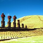 Head on Easter Island by betelnut