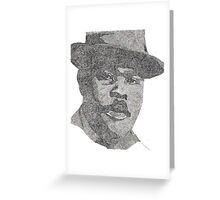 Marcus Garvey Greeting Card