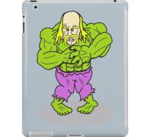 Hulkamania - The Hulk and Hogan As One iPad Case/Skin
