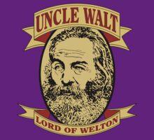 Uncle Walt (Color Print) by GritFX