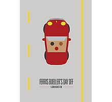 Ferris Bueller's Day Off Movie Poster Photographic Print