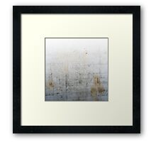 Concrete Style Framed Print