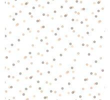 Chic Pastel Dot & Spot Pattern Photographic Print