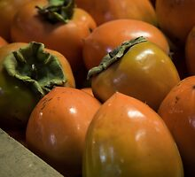 Hachiya Persimmons by Caitlyn Grasso