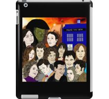 A time lords family iPad Case/Skin