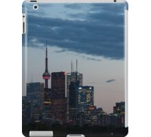 Slow Dusk - Toronto's Glowing Skyline iPad Case/Skin