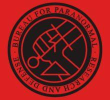 BPRD BLACK little logo by Cowabunga-kas