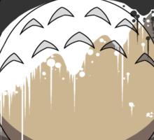 Totoro Painting Panda Sticker