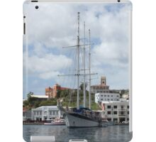Sailing Boat at Grenada iPad Case/Skin