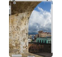 Caribbean Colors of San Juan, Puerto Rico From a Window of San Cristobal Castle iPad Case/Skin