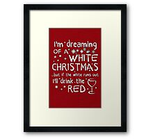Dreaming Of A White Christmas Framed Print