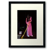 Pink aoi dai Framed Print