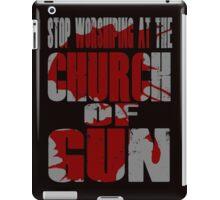 Church of Gun  iPad Case/Skin