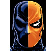 deathstroke mask Photographic Print