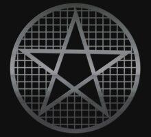 Metal Pentagram Occult / Pagan / Wicca Symbol by Buddhuu