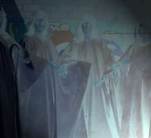 Spotlight on ghosts, on Friday 13th.  by Ozcloggie