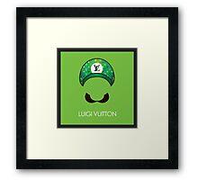 Luigi Vuitton Framed Print