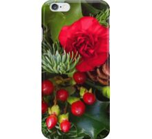 Christmas in Red iPhone Case/Skin