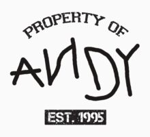 Property of Andy by undercoverhuman