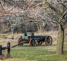 End of the Wagon Trail by wiscbackroadz