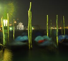 Night gondolas  by Jenny Hall