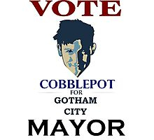 VOTE COBBLEPOT!! Photographic Print