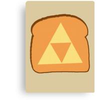 Triforce toast Canvas Print
