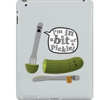 Don't play with dead pickles iPad Case/Skin