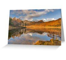 Blea Tarn Lake District Greeting Card
