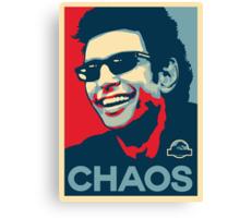 Ian Malcolm 'Chaos' T-Shirt Canvas Print
