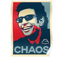 Ian Malcolm 'Chaos' T-Shirt Poster