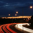 Eastern Freeway Bend by MattLew
