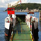 MV Loch Striven moored in Oban by Jonathan Cox