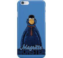 Magritte Monster iPhone Case/Skin