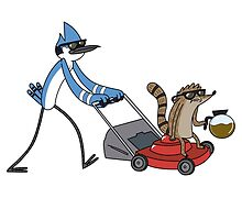 Mordecai & Rigby  by MonHood