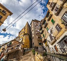 Naples - working class district by enolabrain