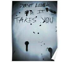 Slender man- Dont look or it takes you Poster