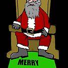 Santa Claus throne by Logan81