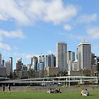 Brisbane City by Jola Martysz