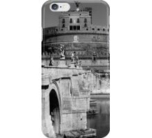 Castel Sant'Angelo in Rome iPhone Case/Skin
