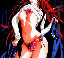 Rias Gremory (Color Design) by WCPerryAndrez