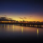 Bridge to the horizon by Brent Matthews