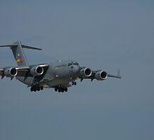 Aif Force C-17 by Bonnie Johnson