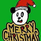Merry Christmas Panda by Logan81