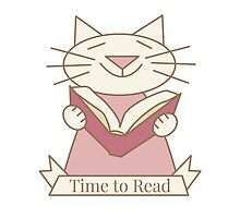 Time to Read Cat by Sue Cervenka