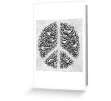 Peace Naturalis Greeting Card
