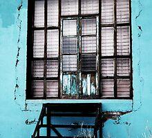 Turquoise Windows by Adrian Figueroa