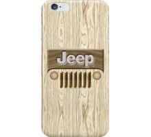 Wooden Jeep Willys [Update] iPhone Case/Skin