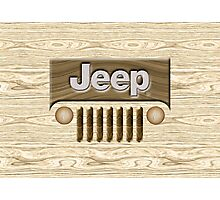 Wooden Jeep Willys [Update] Photographic Print