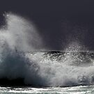 Wave action at Narooma by Darren Stones